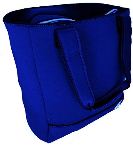 Borsa Shopping Donna K-Way Bag Woman K-Sea N/S Shopper -Blu