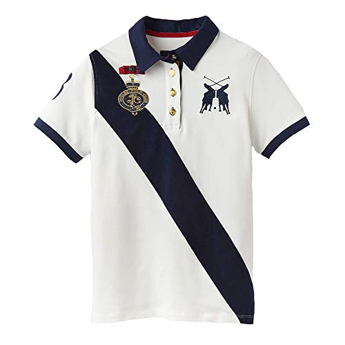 Button Down Cotton Polo Shirt (Joules Womens Claredon Classic Cotton Pique Sash Polo Shirt)