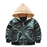 Kinder (3J-6J) Baby Oberbekleidung, Quaan Winter Herbst Mantel Karikatur Jacke Oberbekleidung Foral Kapuzenpullover Kleider Mantel