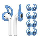 MoKo 4 Pièce Étui/Skin pour Apple AirPods/EarPods, Crochet d'oreille Remplaçable...