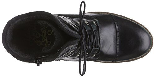 Mustang Damen Kurzschaft Stiefel Schwarz (9 schwarz)