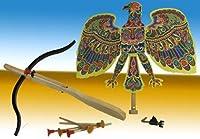 Adlerschiessen Holzspielzeug