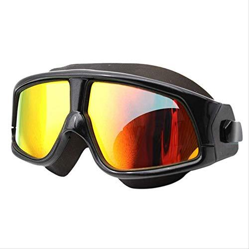 XYQY brille frauen männer schwimmmaske komfortablesilikon großen rahmen schwimmbrille schwimmbrillewasserdicht anti-fog uvmitfall sxb