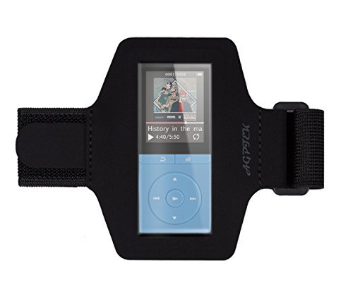 AGPTEK Adjustable Sport Running Jogging Armband for AGPTEK A02 A02S A20 MP3 Player (Small Size)