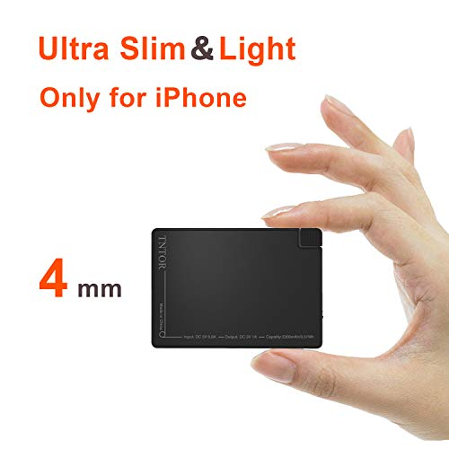 TNTOR 2500 mAh Portable Power Bank-thinnest più...