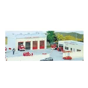 Hornby France - MKD - MK631 - Construction et Maquettes - Caserne de pompiers
