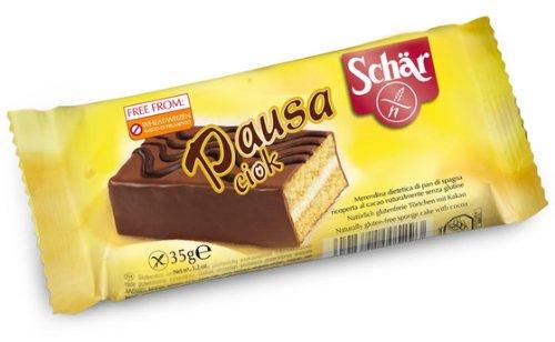 Pastelito sin gluten DR SCHÄR (10 unidades de 35 gr)
