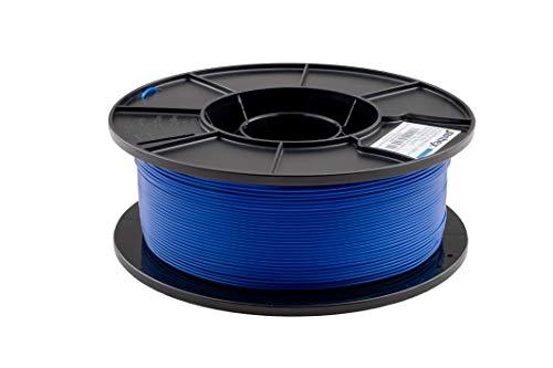 JANBEX PLA (Blau) Filament 1,75 mm 1kg Rolle für 3D Drucker oder Stift in Vakuumverpackung