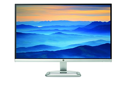 HP 27es 27 inch LCD Monitor (1920 x 1080 Pixel Full HD (FHD) 7 ms HDMI VGA) - Black and Silver