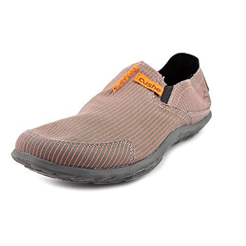 Cushe Mens Slipper Grey/Orange Slipper Grey/Orange Pinstripe