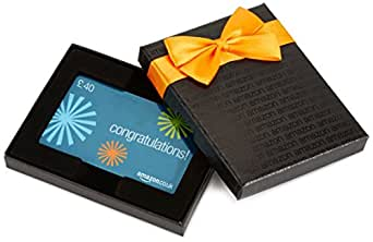 Amazon.co.uk Gift Card - In a Gift Box - £40 (Congratulations Starburst)