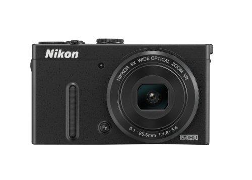 Nikon Coolpix P330 Digitalkamera (12 Megapixel, 5-Fach Opt. Zoom, 7,6 cm (3 Zoll) LCD-Dispaly, bildstabilisiert) schwarz