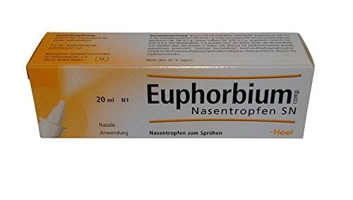 Ferse EUPHORBIUM COMPOSITUM S Nasenspray-homöopathischen Medizin