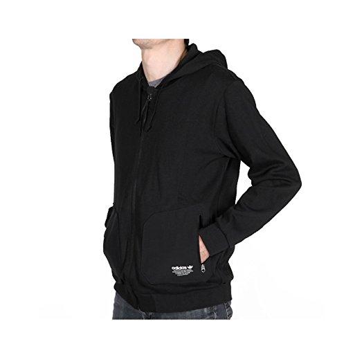 adidas Damen Nmd FZ U Sweatshirt, Black/Negro, Large