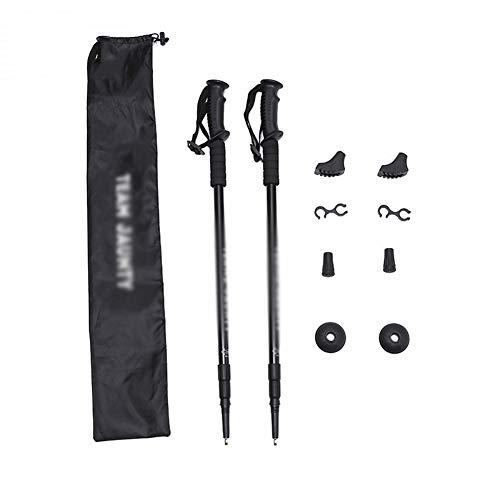 FENGMM Trekkingstöcke-Set mit dreiteiligem, geradem Griff für Spazierstöcke, Skistöcke und Stoßdämpfer - Spazierstock, Größe Kind