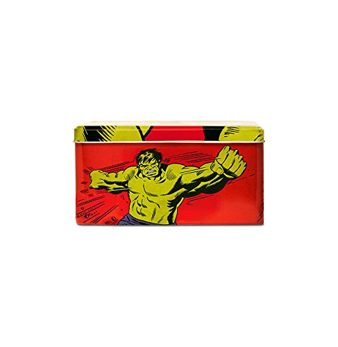 Caja Hulk - Lata de metal Marvel Comics - The Incredible Hulk - coloreado - Diseño original con licencia - Logoshirt