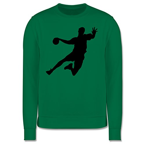 Handball - Handball - Herren Premium Pullover Grün