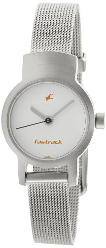 Fastrack Upgrade-Core Analog White Dial Women's Watch - NE2298SM02