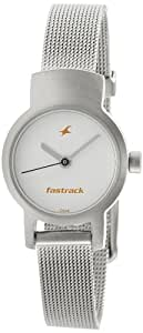 Fastrack Upgrade-Core Analog White Dial Women's Watch -NK2298SM02