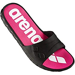 Arena watergrip w Footwear, Mujeres, Black-Magenta, 39