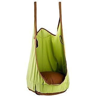 Hong Jie Yuan Pod niños Swing – Silla Colgante Cojín Inflable de Tela niños Apto for Uso Interior y Uso al Aire Libre Muy Adecuado for Que los niños jueguen (Color : White)