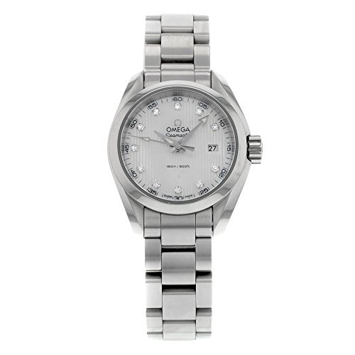 Omega Seamaster Aqua Terra Diamond Mother of Pearl Dial Women's Watch 231.10.30.60.55.001 23110306055001