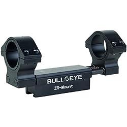 Diana Ensemble de Lunette de visée Bullseye 25,4 + 30 mm pour Rail à Prisme de 11 mm, Noir, 25,4/30 mm