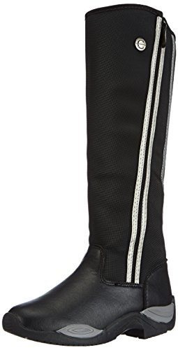 Kerbl Thermoreitstiefel Alaska, Chaussures d'Equitation Adulte Mixte Noir (schwarz; 19-0303)