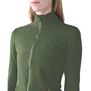 Damen Sport Definieren Jacket Slim Fit Cottony-Soft Handfeel
