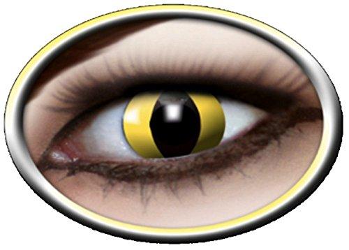 Farbige Kontaktlinsen Katze vierteljährlichen PS 07962