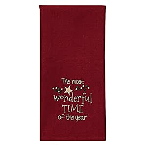 The Most Wonderful Time Dishtowel