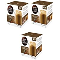 PACK 3 CAJAS DOLCE GUSTO CAFE AU LAIT INTENSO 16UD