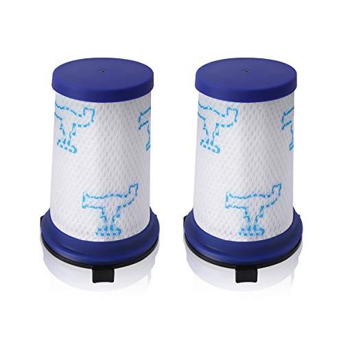 AIEVE 2 Pack Filter Hepa-Filter Ersatzfilter Schaumstofffilter Zubehör Kompatibel mit Rowenta Air Force 360 Staubsauger Handstaubsauger