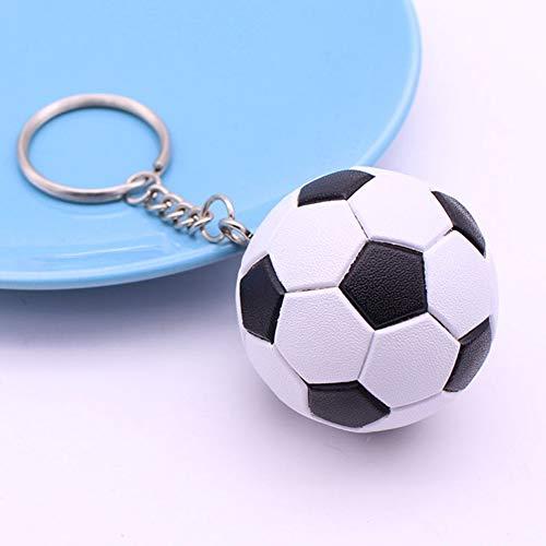 AMA-StarUK36 3 Stück Fußball Keychain Schlüsselanhänger Fanartikel für Kinder Werbeartikel Anti Stress Ball(H02)