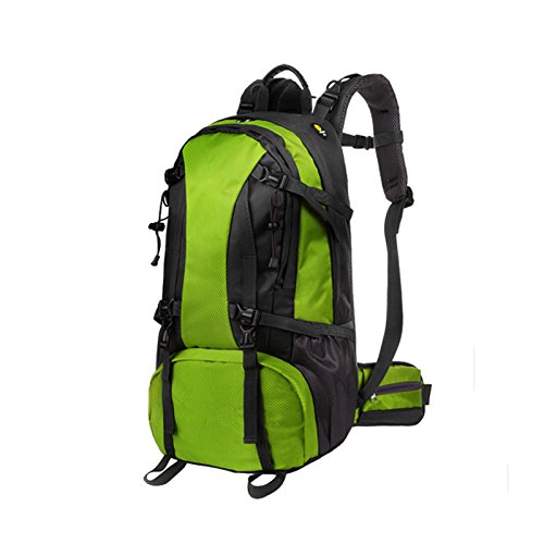 Zaino resistente- pacchetto viaggio sportivo pacchetto viaggio sportivo uomini e donne zaino per alpinismo outdoor a grande capacità e multifunzione -multicolore opzionale ( colore : verde )