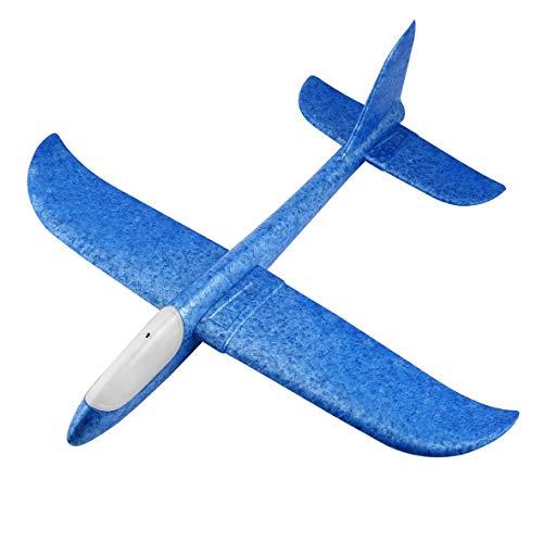 Heaviesk DIY Handwurf Fliegen Segelflugzeug Flugzeuge Schaum Flugzeug Flugzeug Modell Für Kinder Kinder Spiel Spielzeug Werfen Fliegen Modell Flugzeug