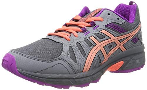 Asics Venture 7 GS, Zapatillas de Running Unisex Niños, Gris (Metropolis/Black 020),...