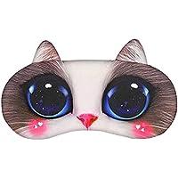 Diuspeed 3D Cartoon Eis Augenmaske, Eis Kompresse Augenmasken für Yoga Reisen Schlafen Party preisvergleich bei billige-tabletten.eu