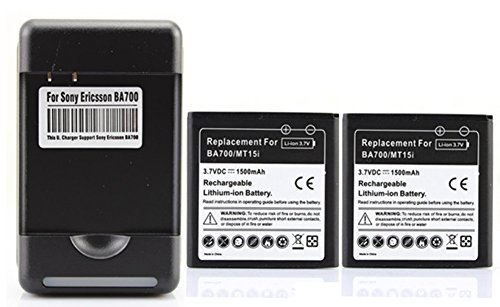 saysure-2x-1500mah-ba700-battery-charger-for-sony-ericsson-st18imt11imt15imk16igalaxy-xperia-neo-mt1