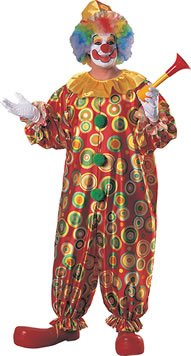 Jack The Jolly Clown (TM) Fancy Kleid Kostüm (Erwachsene plus (Jolly Kostüm)