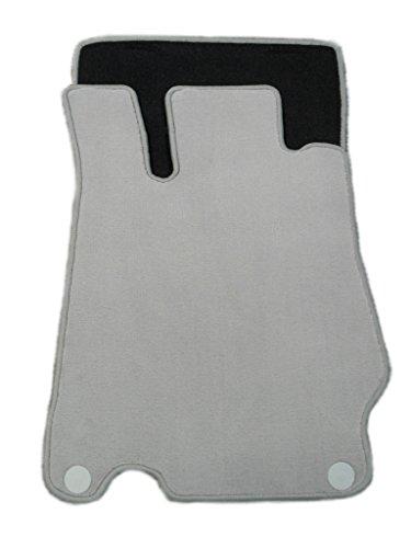 Velour Fußmatten sierragrau (Mercedes Fußmatten R230)