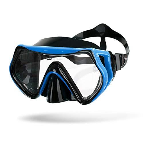 Sportastisch Taucherbrille Dive Under | BLAU | Premium Tauchermaske mit Antibeschlag- und UV-Schutz | ideal für Erwachsene und Kinder ab 10 Jahre | bis zu 3 Jahre Garantie²