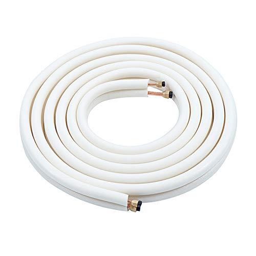 4 m Split Line Set Connect Wire Klimaanlage ausgestellt isolierte Kupferspulen Tube - Isolierte Klimaanlage