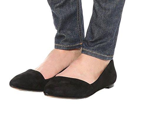 Guoar - Scarpe chiuse Donna Nero