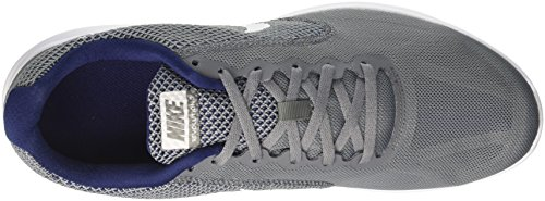 Nike Revolution 3, Scarpe da Running Uomo Grigio (Cool Grey/binary Blue/white 019)