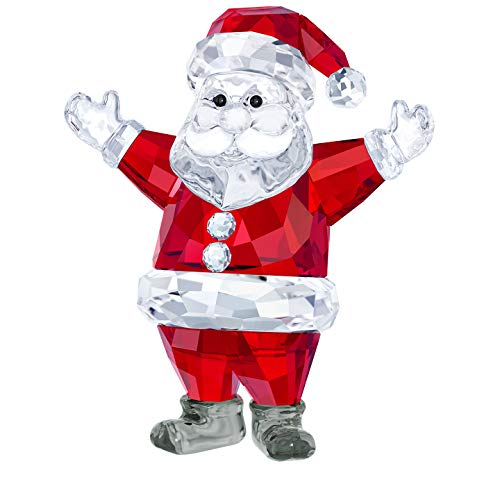 Swarovski Santa Claus, Kristall, Mehrfarbig, 7.1 x 6.1 x 3.5 cm