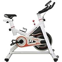 Preisvergleich für Blackpoolal CY-S401 Indoor Cycle Hometrainer Fitnessfahrrad Heimtrainer Fitness Cycling Bike Trimmrad Fitnessbike Fahrradtrainer Ergometer Fahrrad (Weiß)