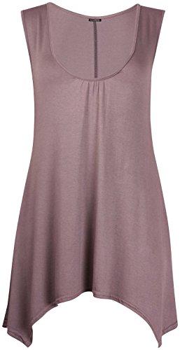 Purple Hanger Damen Top Mokka
