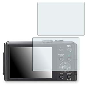 2x Golebo Crystal protection d'écran pour Panasonic Lumix DMC-TZ40 - (Clair comme du cristal, Montage sans bulles, A retirer simplement)