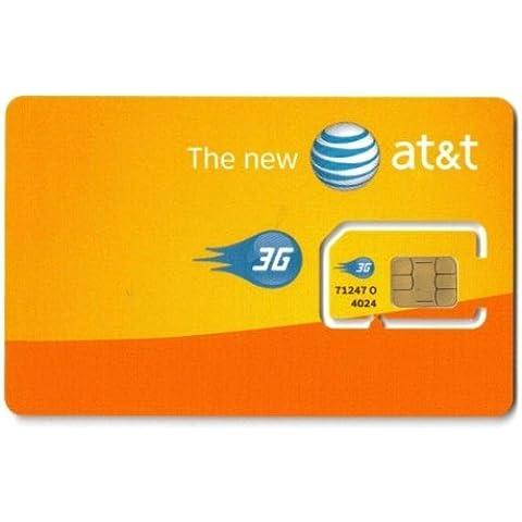 AT&T Micro SIM Card (USA)